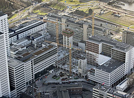 Erasmus MC Utrecht - gevel afgedicht met illbruck TP600