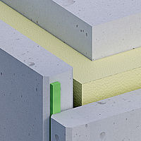 illbruck afdichtingsband in een betonnen gevel