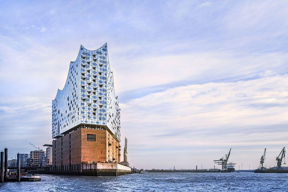 Nuevo edificio de referencia en Hamburgo: La Filarmónica de Elba.