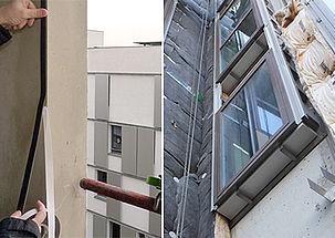 Comment calfeutrer une fenêtre posée en applique intérieure ou extérieure ou feuillure intérieure ?