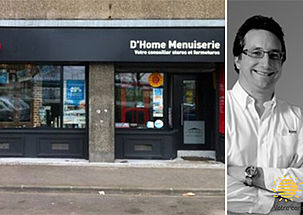 D'Home Menuiserie, conseiller fermetures à Lille