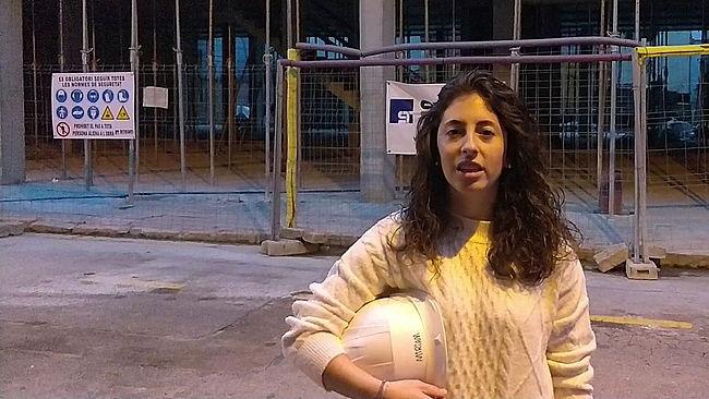 Miriam Gómez, arquitecta técnica. Dirección de ejecución de obras.