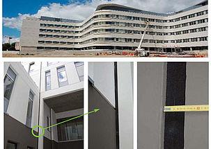 Traitement de joints de dilatation au Centre Hospitalier Bretagne Sud