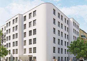 Studenten-Wohnhaus Berlin-Oberschöneweide