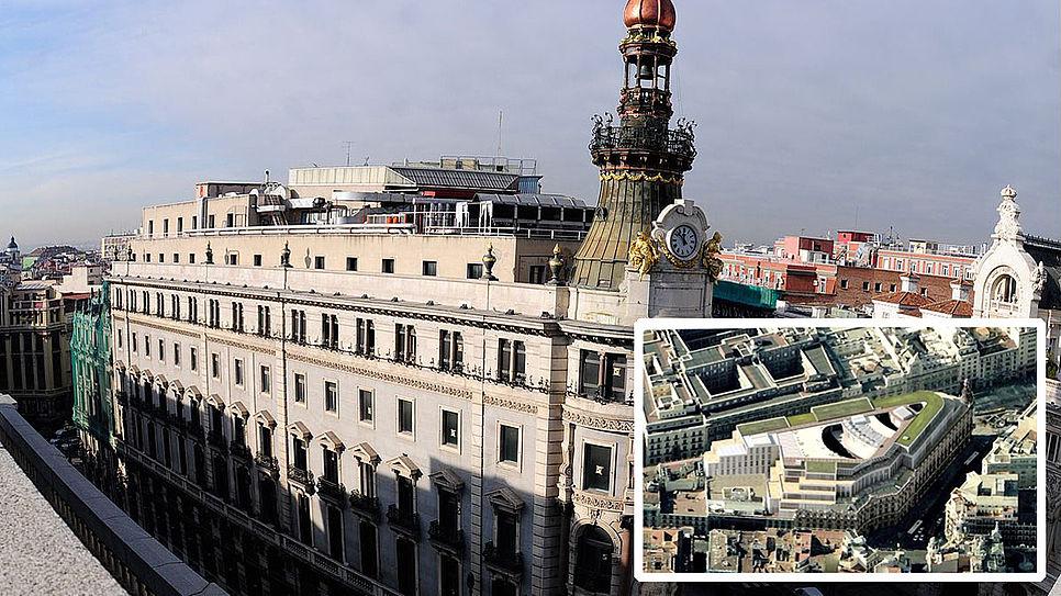Vista aérea del Centro Canalejas