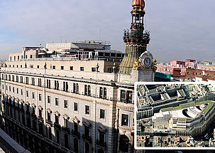 Etanchéité du Complexe Canalejas, bâtiment emblématique de Madrid
