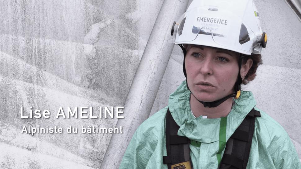 Lise Ameline, Alpinista de edificios