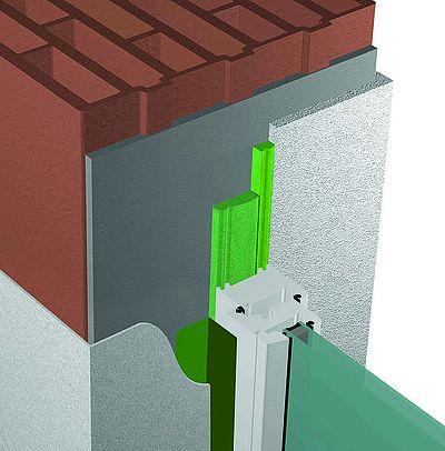 Pose en tunnel avec profilé inférieure à 58mm