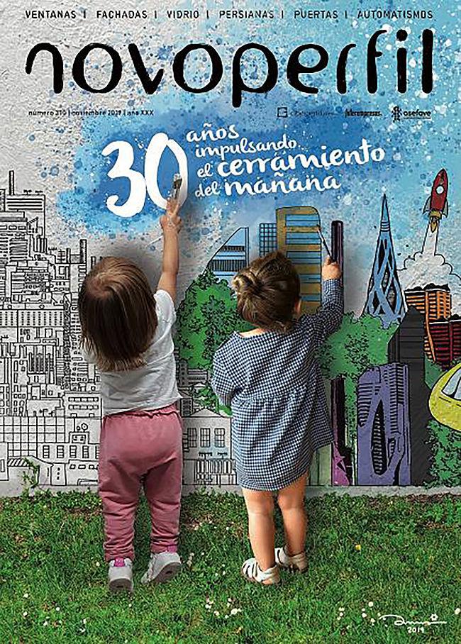 """Portada del número especial """"30 años de Novoperfil"""" – nº 310"""