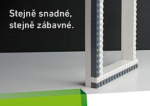 Stavebnicový systém pro zabudování okna do prostoru tepelné izolace