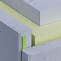 Betonfassade zweischalig hinterlüftet