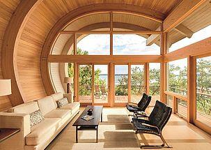 Montáž okna na drevenú konštrukciu